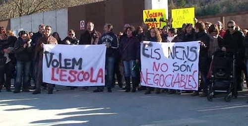 volem escola, els nens no són negociables