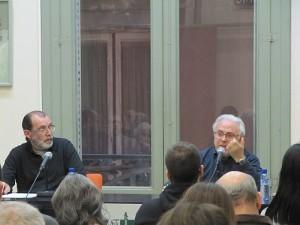 Ferran Aisa parlant sobre Proudhon i Pi i Margall