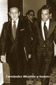 Torcuato-Fernández-Miranda y-Adolfo-Suárez