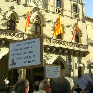 Les treballadores de TMESA acusen amb noms i cognoms les responsabilitats del Consistori (Foto: PV)
