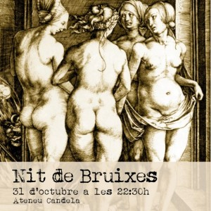 """Cartell de la """"Nit de Bruixes"""" 2014"""