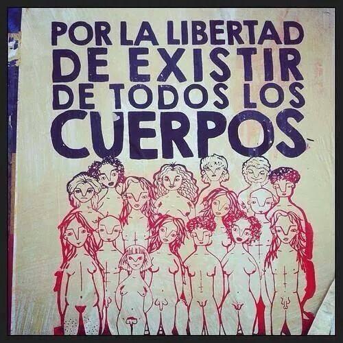 guerrilla de cossos llibertat a tots els cossos