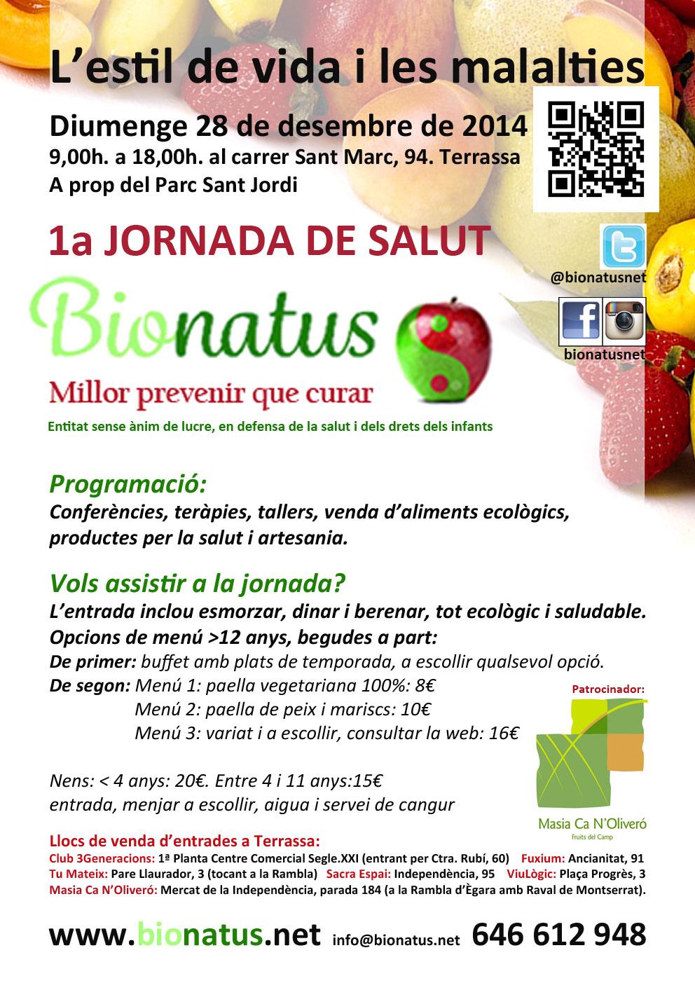 1ª Jornada Salut Bionatus