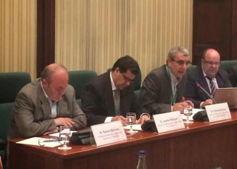 Perfecto Alonso parla davant la Comissió del Parlament, 3 desembre. (Foto: FCTC)