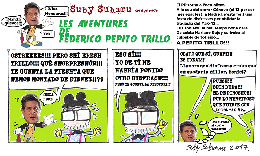 Tira Pepito Trillo