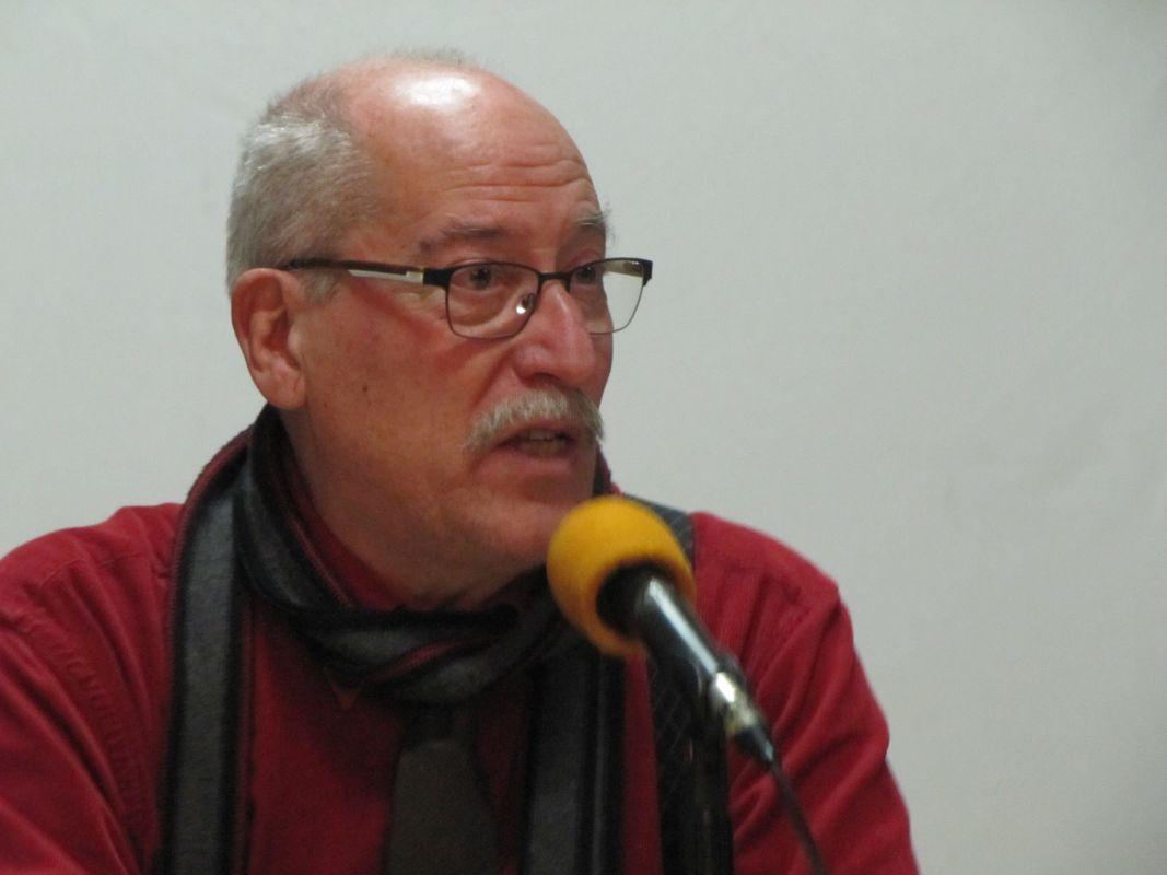Andreu Martín a l'Ateneu Candela. Foto: JFFF