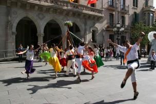 Ball de Gitanes durant la cercavila de la 5a Culturassa, 18 d'abril. Foto: PV