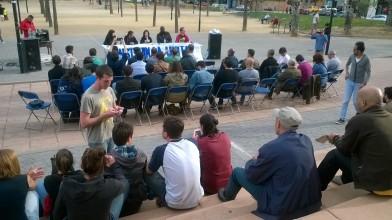 Assistents a l'acte de presentació del nucli local d'UCFR. Foto PV