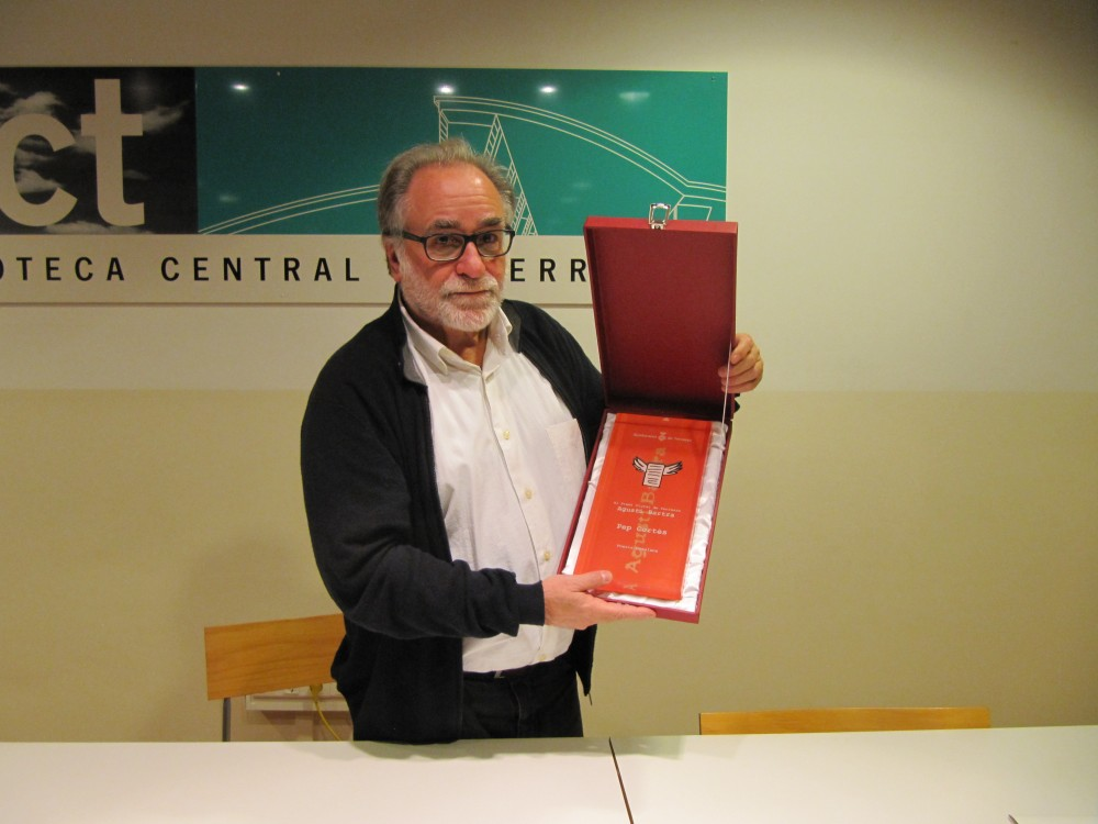 Entrega del guardó del Premi Bartra 2014. Foto: JFFF