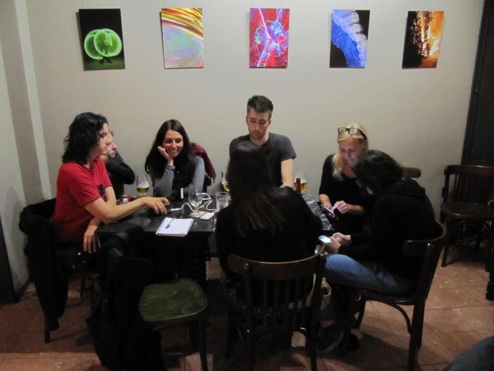 D'esquerra a dreta: Cristina Sánchez, Pati Fornes, Pau Gómez, Rosa Boladera i Lydia Cazorla. Foto: JFFF
