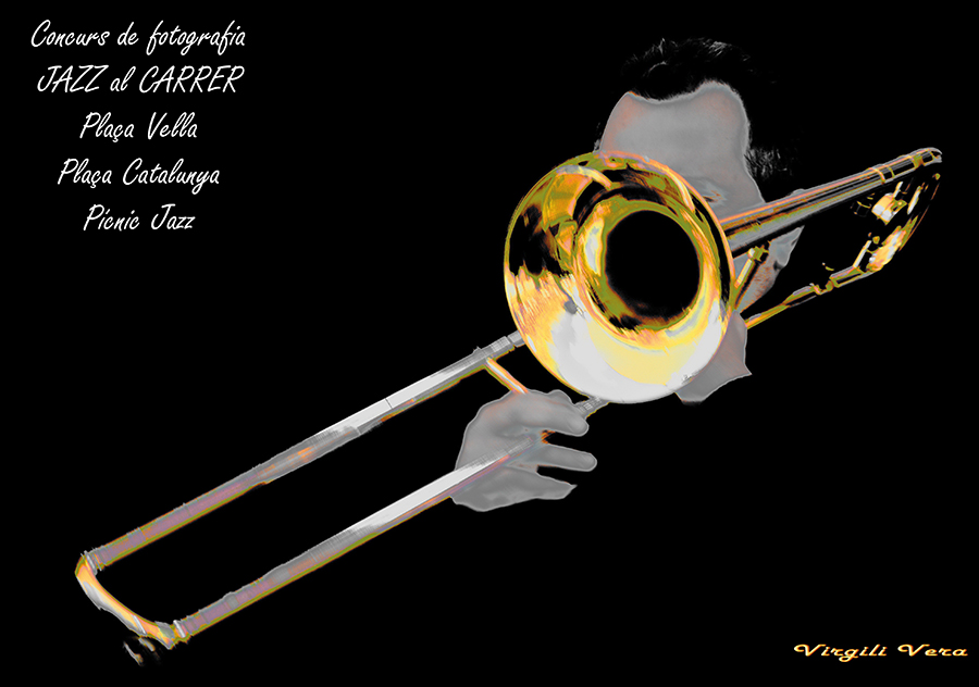 cartell jazz al carrer