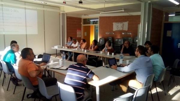 Un moment de la 3a reunió de la plataforma Dignifica la C243c Foto DU