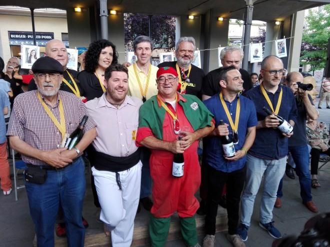 Foto de grup després de la presentació de cadascú. Foto PV