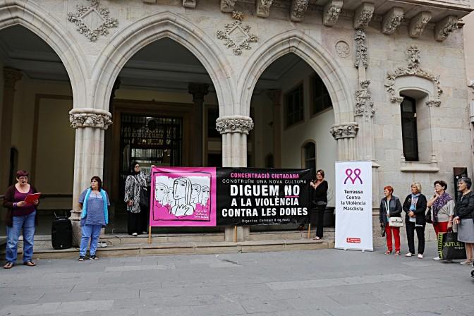 170925 concentracio contra violencia dones_setembre2017
