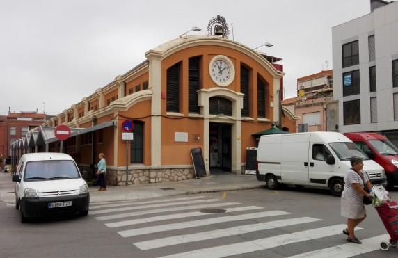 Façana principal del Mercat del Triomf. Foto PV