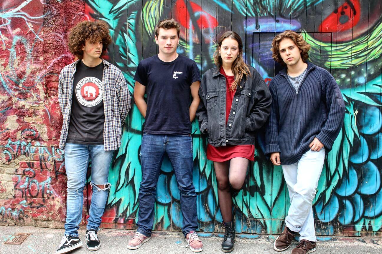 Grup de musica The Sappys als Bucs Session pel Terrassa Musica Moderna