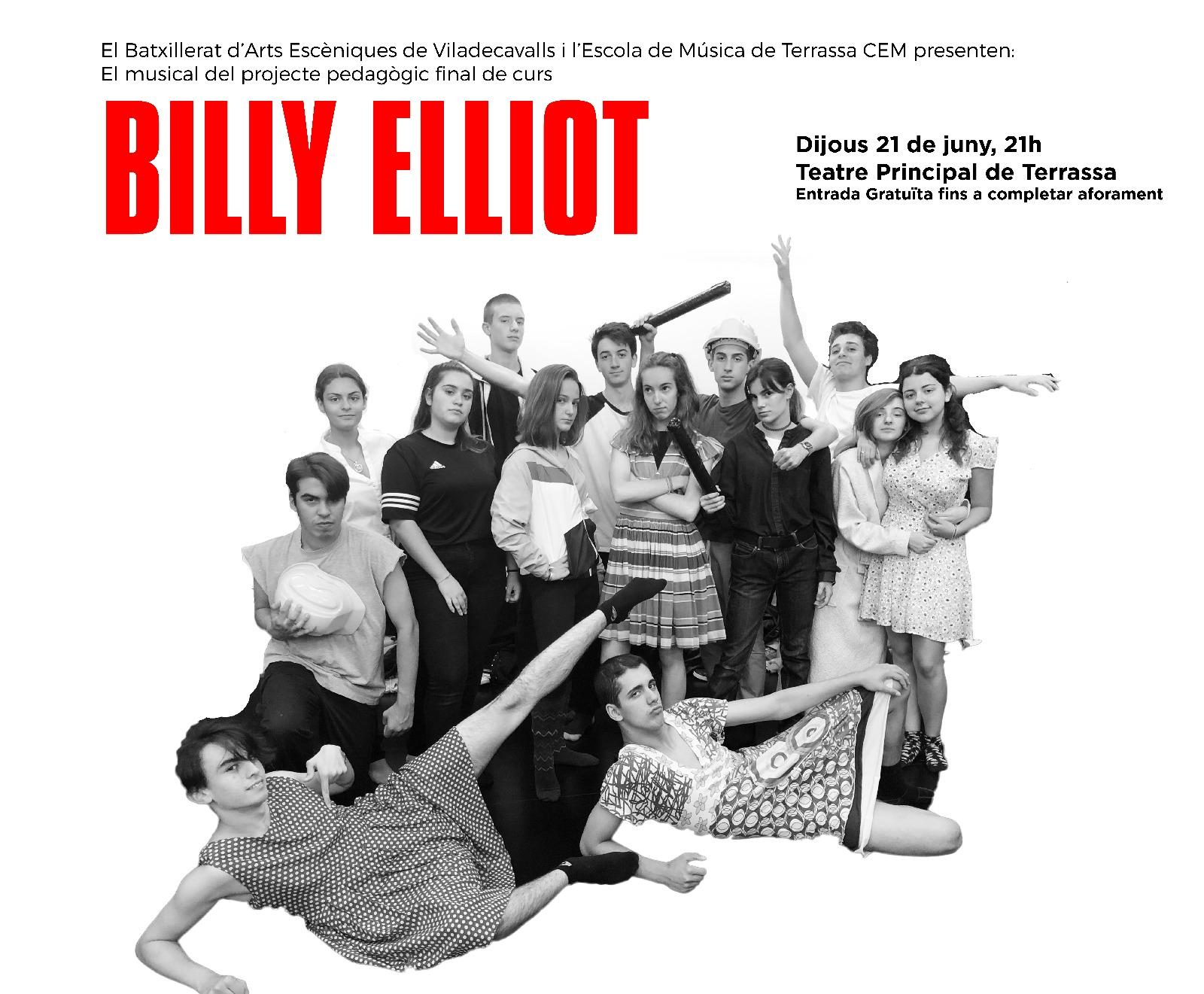 Batxillerat Arts Escèniques de Viladecavalls i CEM representen Billy Elliot
