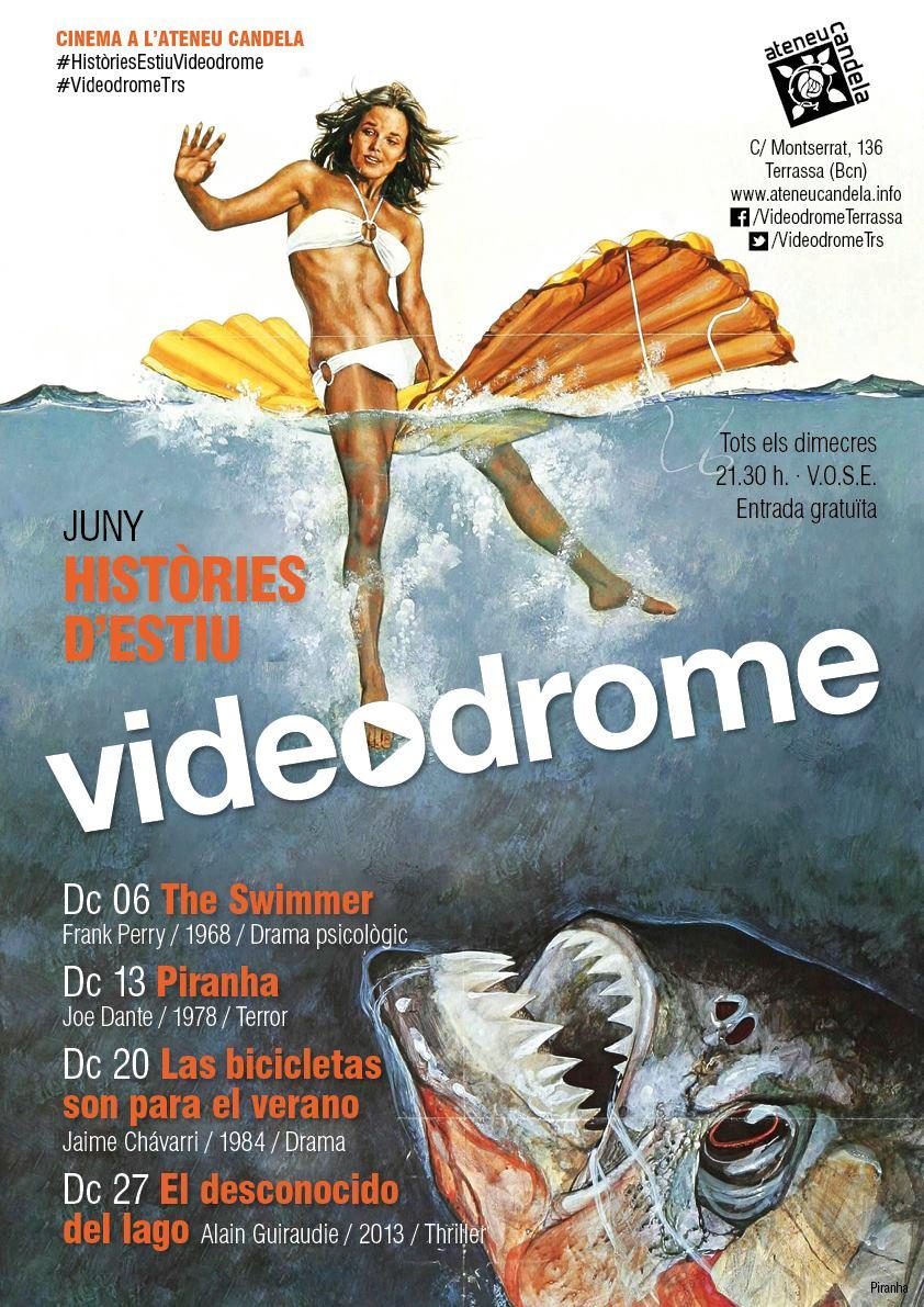 Videodrome cicle de cinema juny 2018