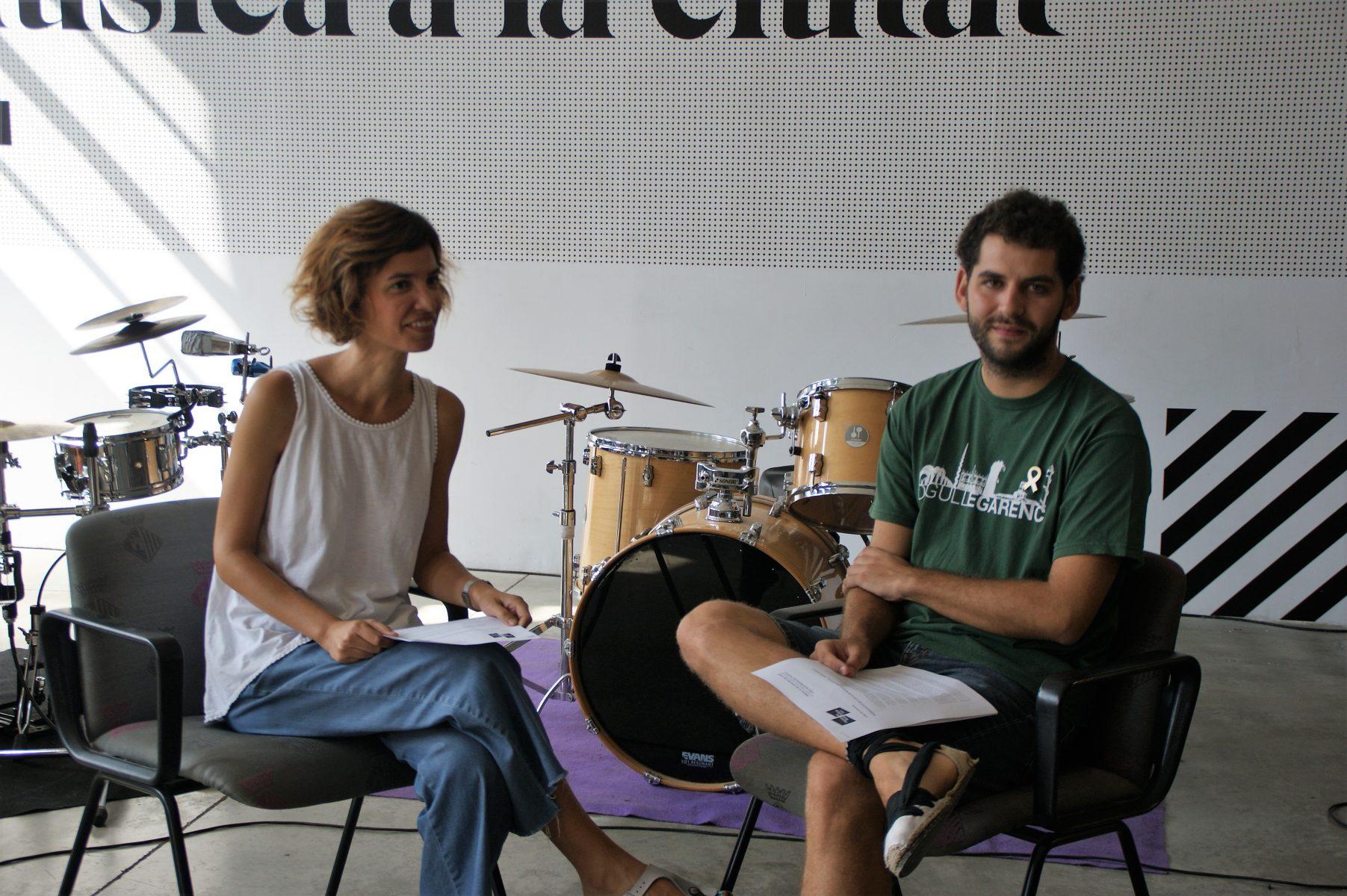 Presentació Aula de la Música Tracional de Terrassa.