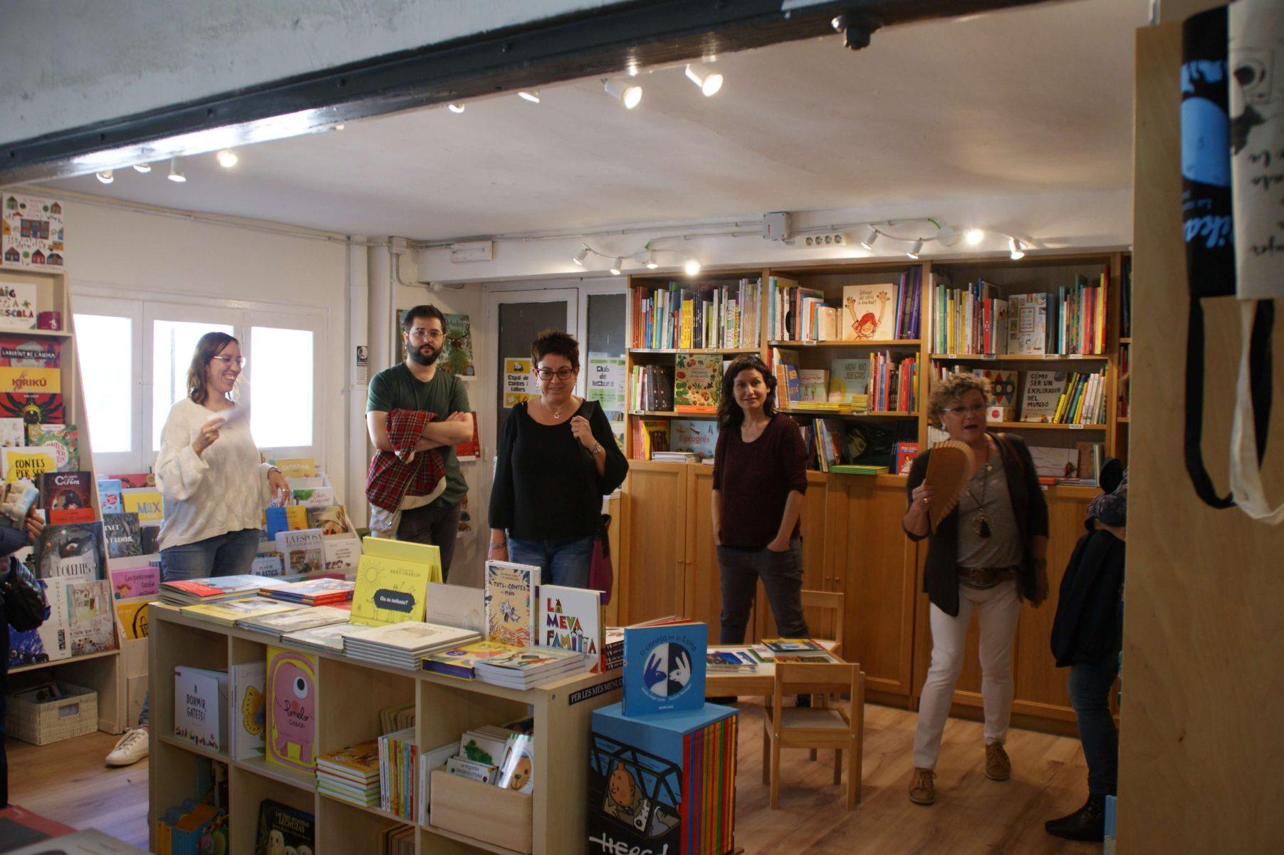 Llibreria Synusia. Foto Ana Mesa