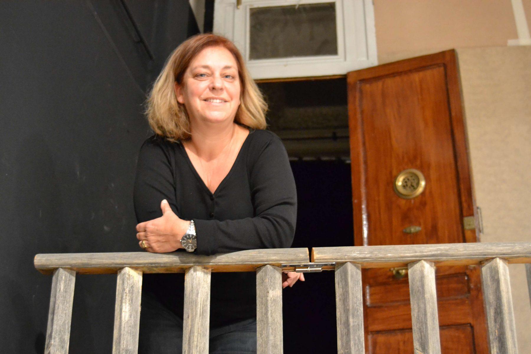 Maria Miralda, directora de Grup de teatre d'Amics de les Arts. Fotografia Eloi Falguera