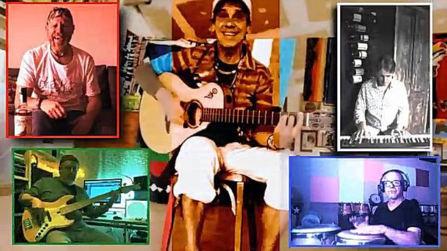 Captura de pantalla del vídeo editat per Misicòpates amb Manu Chao
