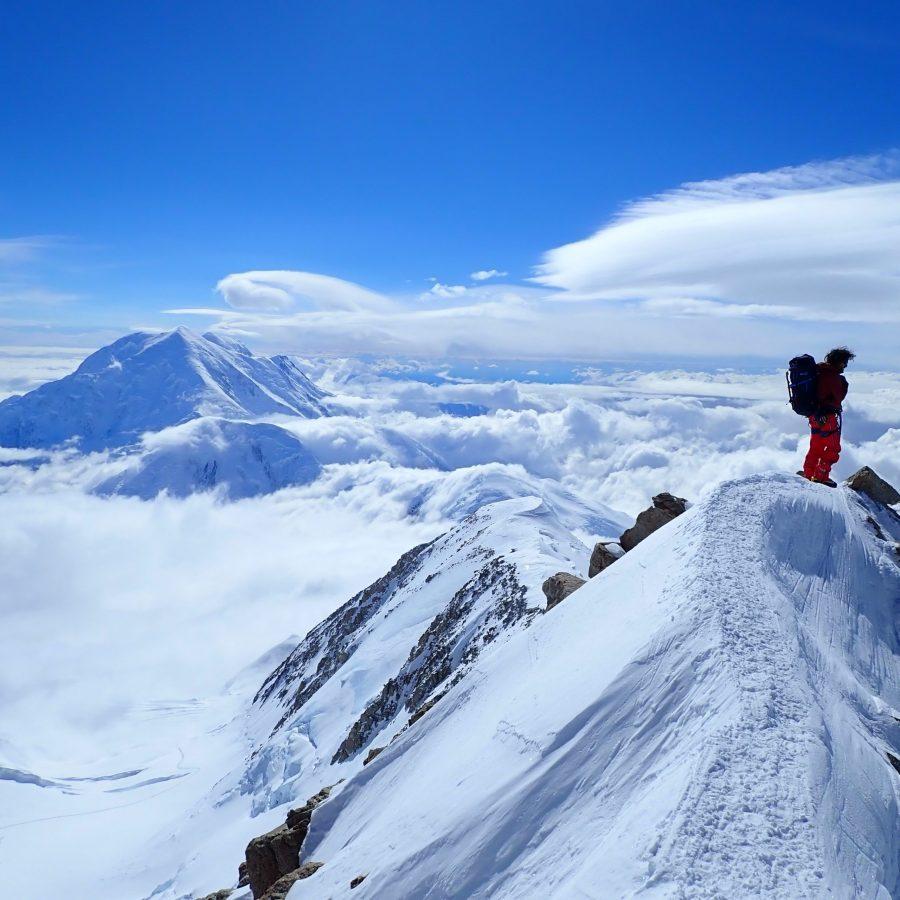 Bru Busom a la cima del Denali. Foto: M. Toralles