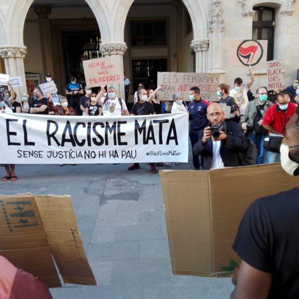 Terrassa contra el racisme i la violència policial. Foto: PV