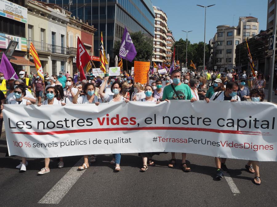 manifestació serveis públics 27 juny