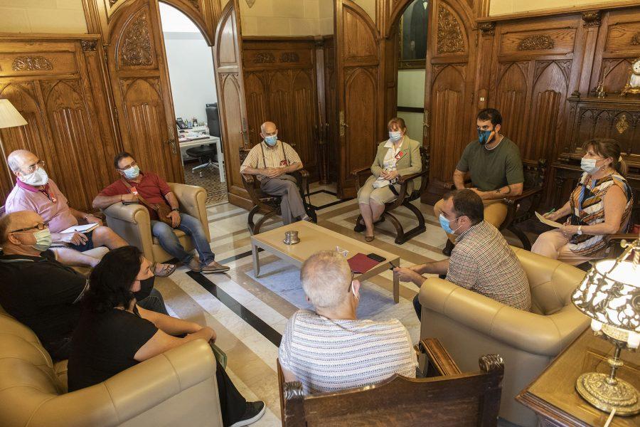 Reunió de l'Alcalde i la FAVT