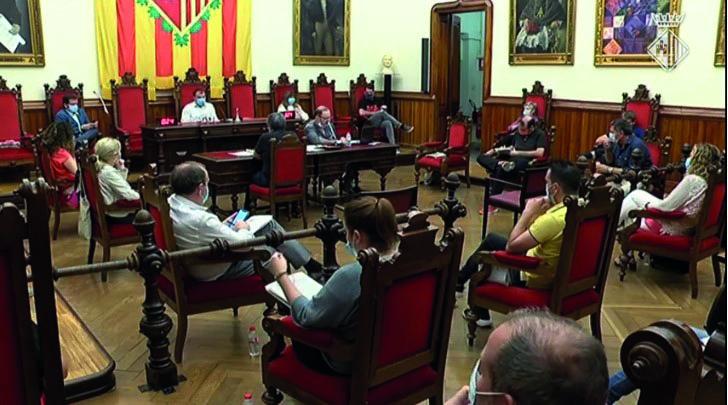 Ple municipal Ajuntament de Terrassa 30 de juny
