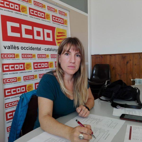 Marina Iniesta, Educació CCOO Vallès Occidental. Foto: PV