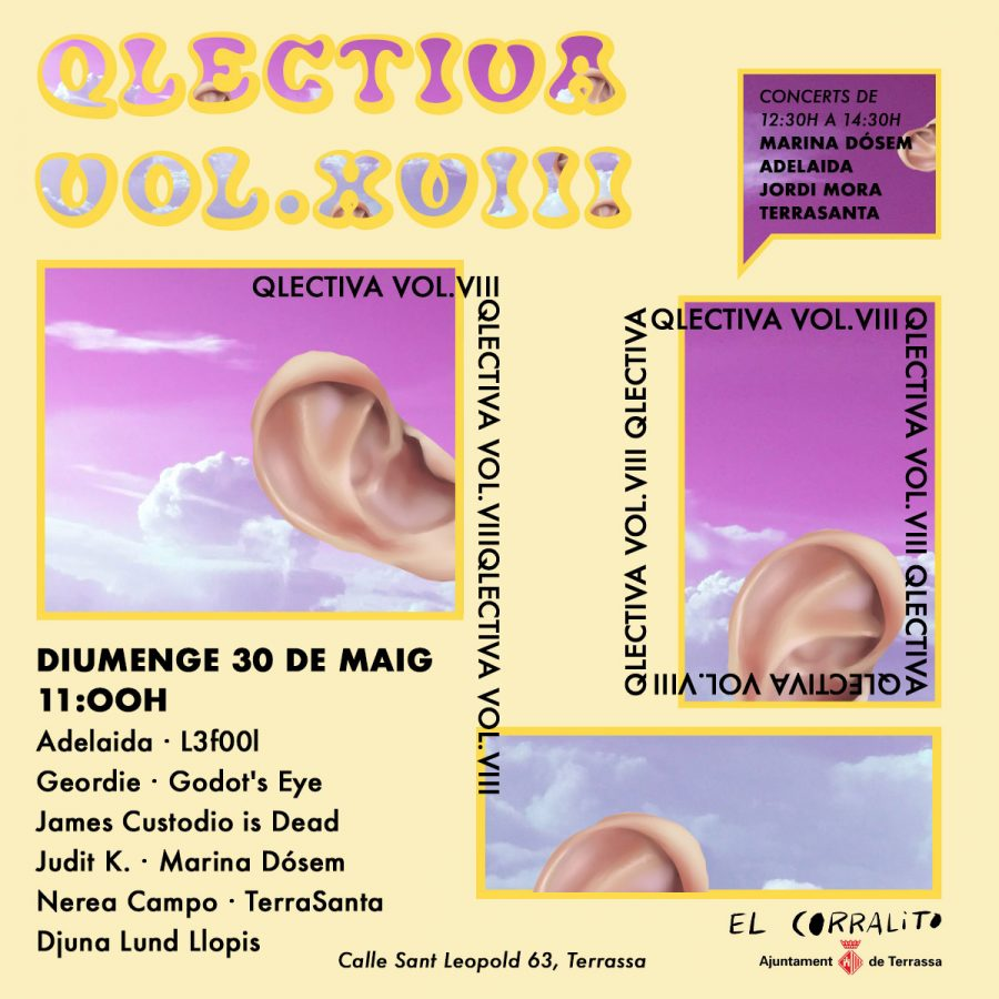 Cartell Diumenge_Qlectiva18