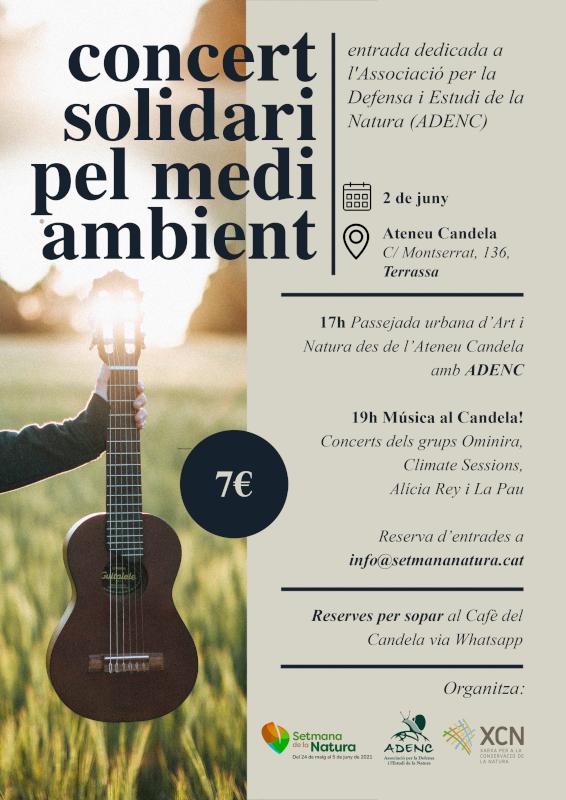concert solidari medi ambient