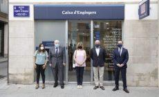 Inauguració a Terrassa de la nova oficina de Caixa d'Enginyers, cooperativa de crèdit i serveis financers