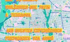 El comitè Vaga Feminista inicia l'elaboració d'un mapa de violències a la ciutat