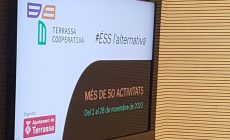 La Terrassa Cooperativa de novembre s'adapta a la situació i oferirà més de 50 activitats de debat i formació